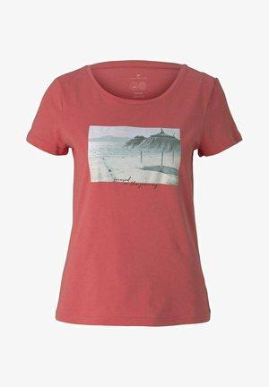 Camiseta estampada - flamingo flower
