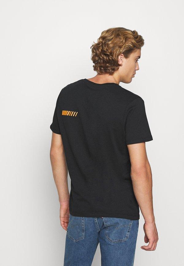 Jack & Jones ASTRO - T-shirt z nadrukiem - black/czarny Odzież Męska JYZW