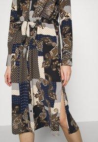 Vero Moda - VMHILDA CALF DRESS - Day dress - navy blazer/hilda - 6