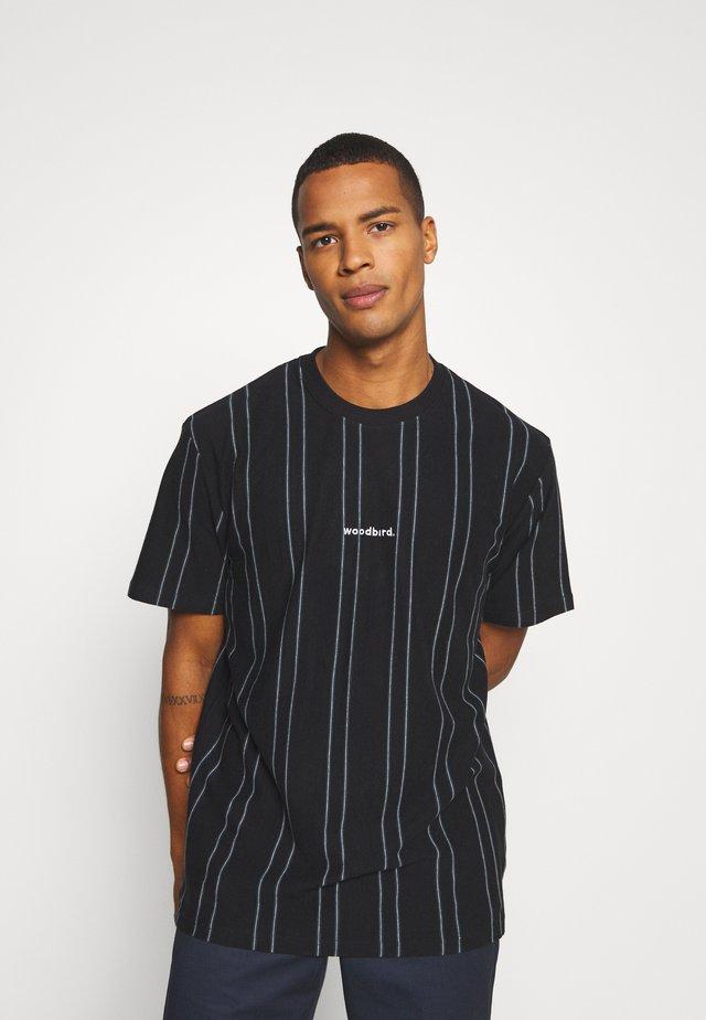 CRAZ SOCCER TEE - T-shirt print - black