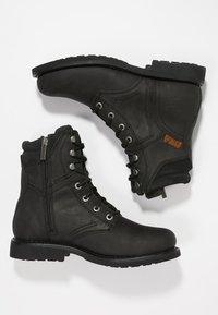 Harley Davidson - DARNEL - Cowboy/biker ankle boot - black - 1