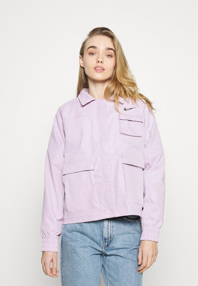 Summer jacket - iced lilac