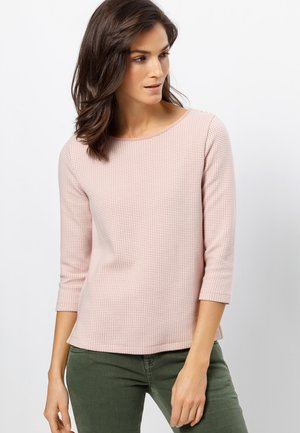 Sweatshirt - misty rose