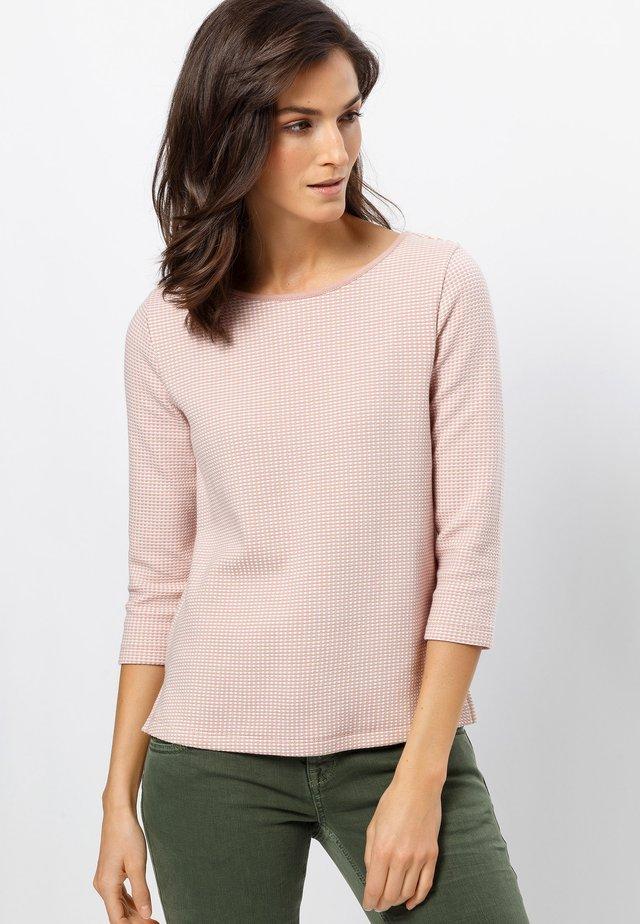 Sweatshirt - misty rose