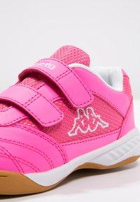 Kappa - KICKOFF  - Sports shoes - pink/white - 5