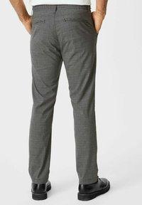 C&A - Trousers - black / grey - 2