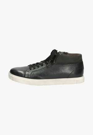 Sneakers laag - black/wht sole