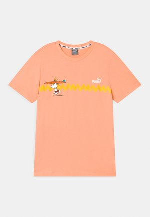 PUMA X PEANUTS GRAPHIC - Camiseta estampada - apricot blush
