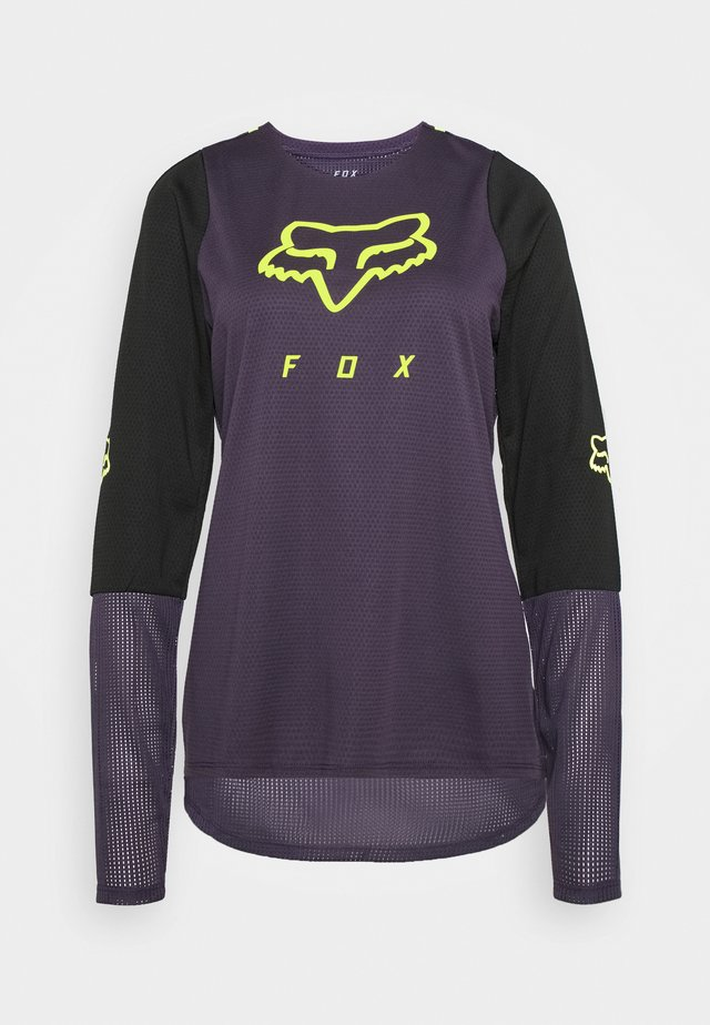 WOMENS DEFEND - Sports shirt - dark purple
