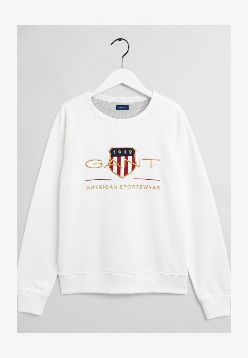 GANT - ARCHIVE SHIELD UNISEX - Sweatshirt - eggshell