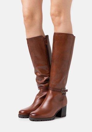 Høje støvler/ Støvler - chestnut