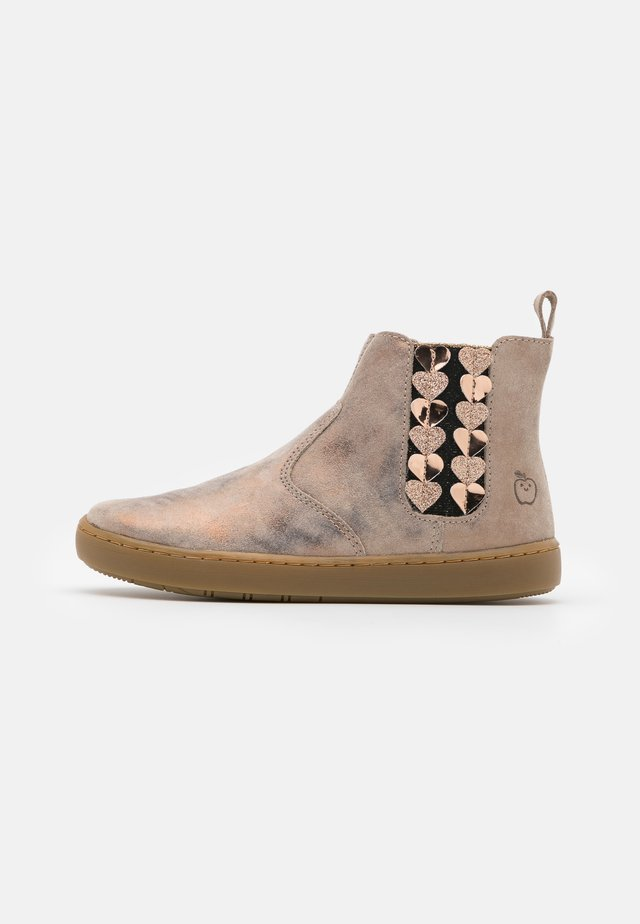 PLAY JOD HEART - Bottines - taupe/cooper