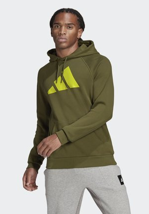 FI HOOD BD MUST HAVES SPORTS RELAXED SWEATSHIRT HOODIE - Hoodie - green