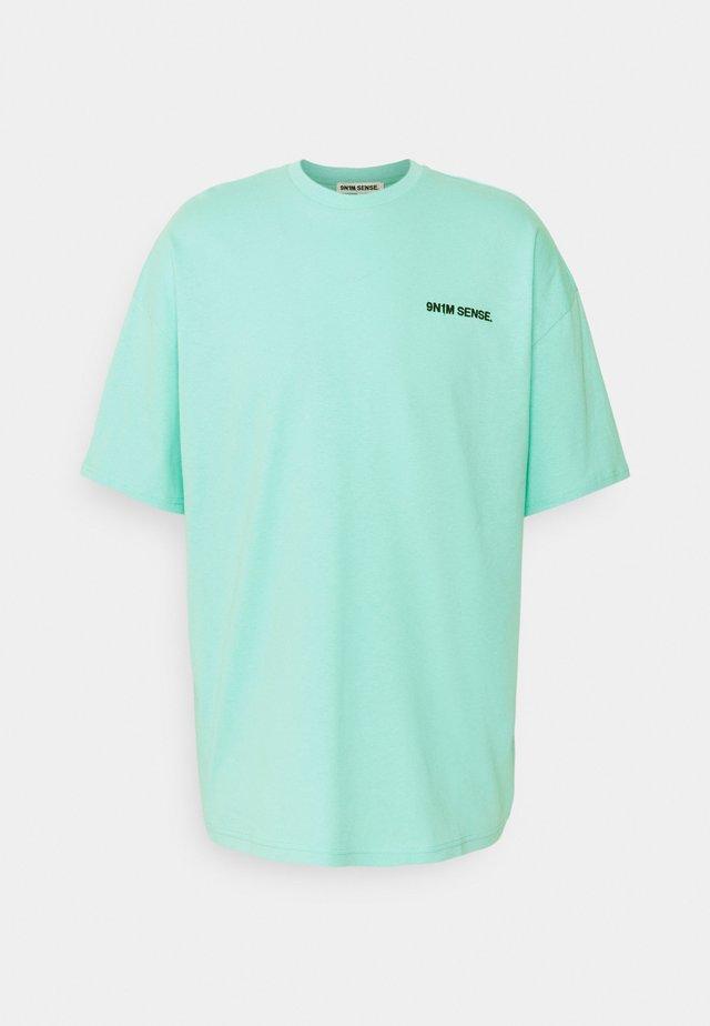 LOGO UNISEX - Print T-shirt - pantone mint