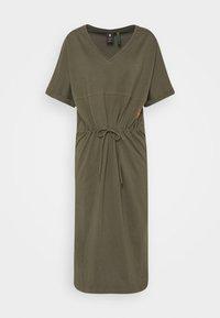 G-Star - ADJUSTABLE WAIST DRESS - Jersey dress - khaki - 6