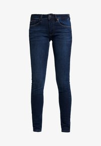 Tommy Jeans - LOW RISE - Jeans Skinny Fit - hawaii dark blue stretch - 4