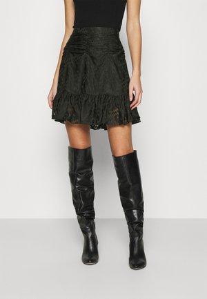 HARLIE SKIRT - Mini skirt - black