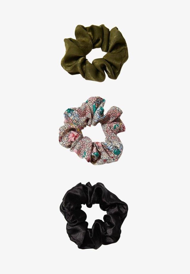 3 PACK - Accessoires cheveux - dark green