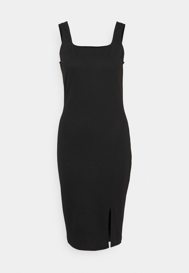 VMEDNA DRESS - Shift dress - black