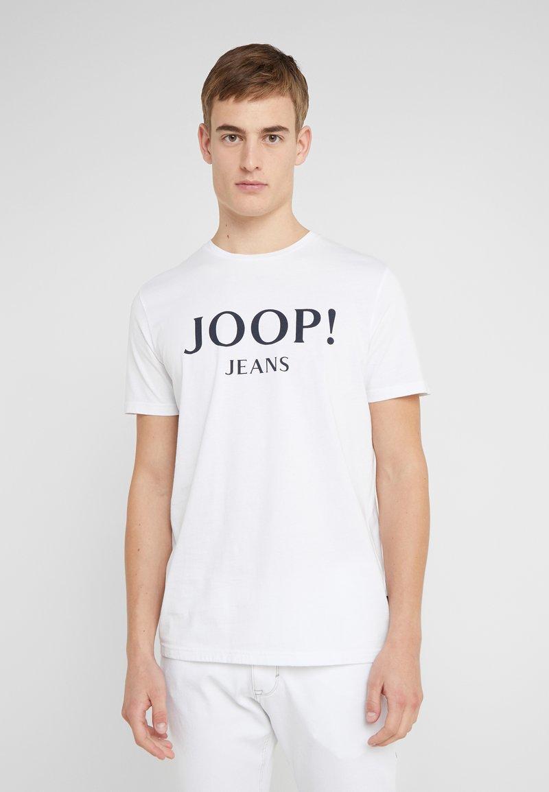 JOOP! Jeans - ALEX - Camiseta estampada - white