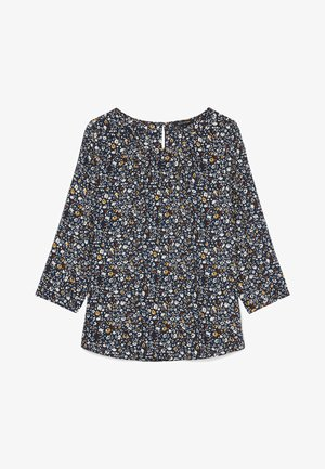 LONG SLEEVE, HIGH ROUND NECK - Blouse - multi