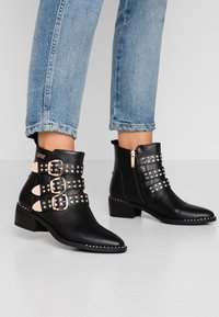 JETTE - Ankle boots - black - 0