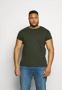 Topman - 2 PACK - Basic T-shirt - multi - 3