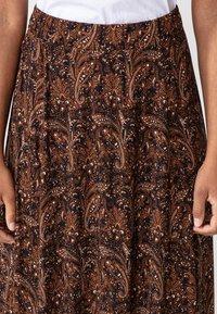 Indiska - OLIVARA - A-snit nederdel/ A-formede nederdele - multi - 3