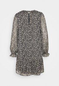 Wallis - MINI PAISLEY FRILL DRESS - Sukienka letnia - black - 1