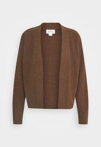 CORA - Cardigan - brown