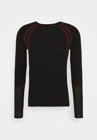 LÖFFLER - AIRVENT TRANSTEX LIGHT - Funktionsshirt - black/red - 0