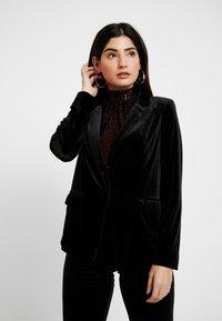 Dorothy Perkins Petite - JACKET - Blazer - black - 0