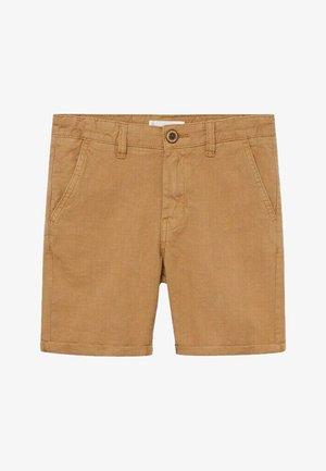 LINUS - Denim shorts - zand