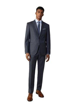 Rick-Jans - Suit - navy gemustert
