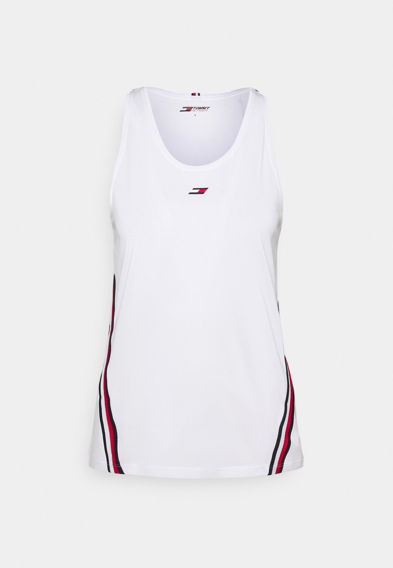 Tommy Hilfiger - TAPE TANK - Top - white
