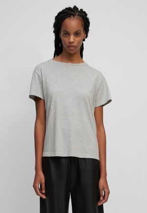 T-shirt basique - stony grey melange