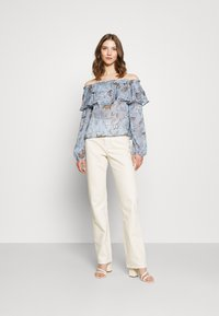 Nly by Nelly - MEET ME AFTER BLOUSE - Camicetta - multi coloured - 1