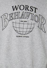 WRSTBHVR - SWEATER CITIZEN UNISEX - Sweater - grey melange - 2