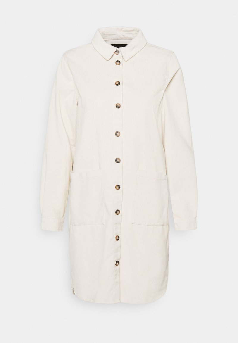Pieces - PCPHOEBE DRESS - Skjortekjole - birch