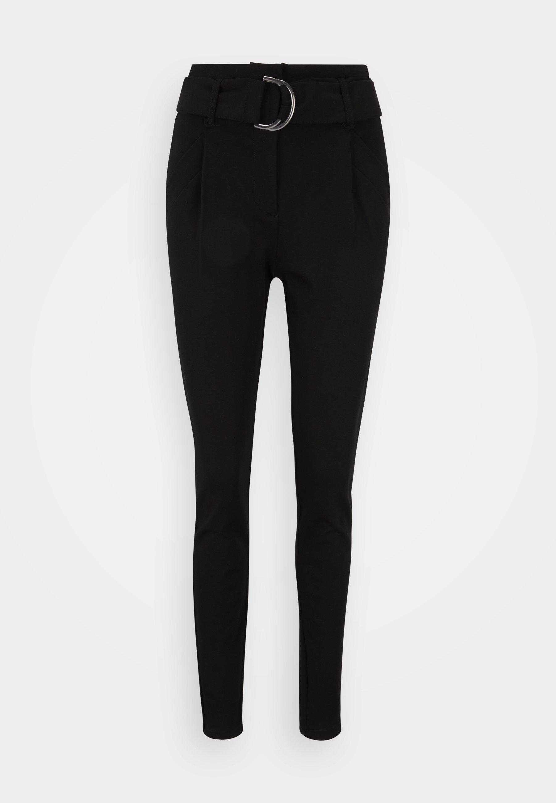 Femme VMBAILEY PAPERBAG BELT PANTS - Pantalon classique