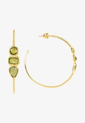 Earrings - vert