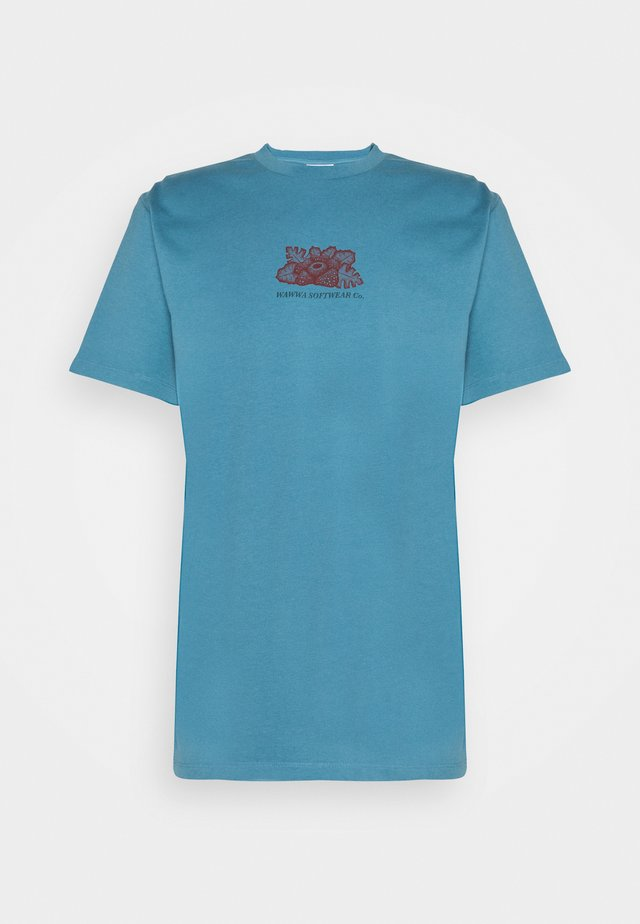 UNISEX HARMONIA - Print T-shirt - sky blue