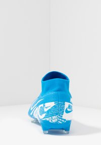 Nike Performance - MERCURIAL 7 ACADEMY FG/MG - Moulded stud football boots - blue hero/white/obsidian - 3