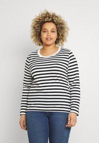 Selected Femme Curve - SLFANDARD - Long sleeved top - black - 0