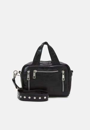 MINI DONNA CROCO - Kabelka - black