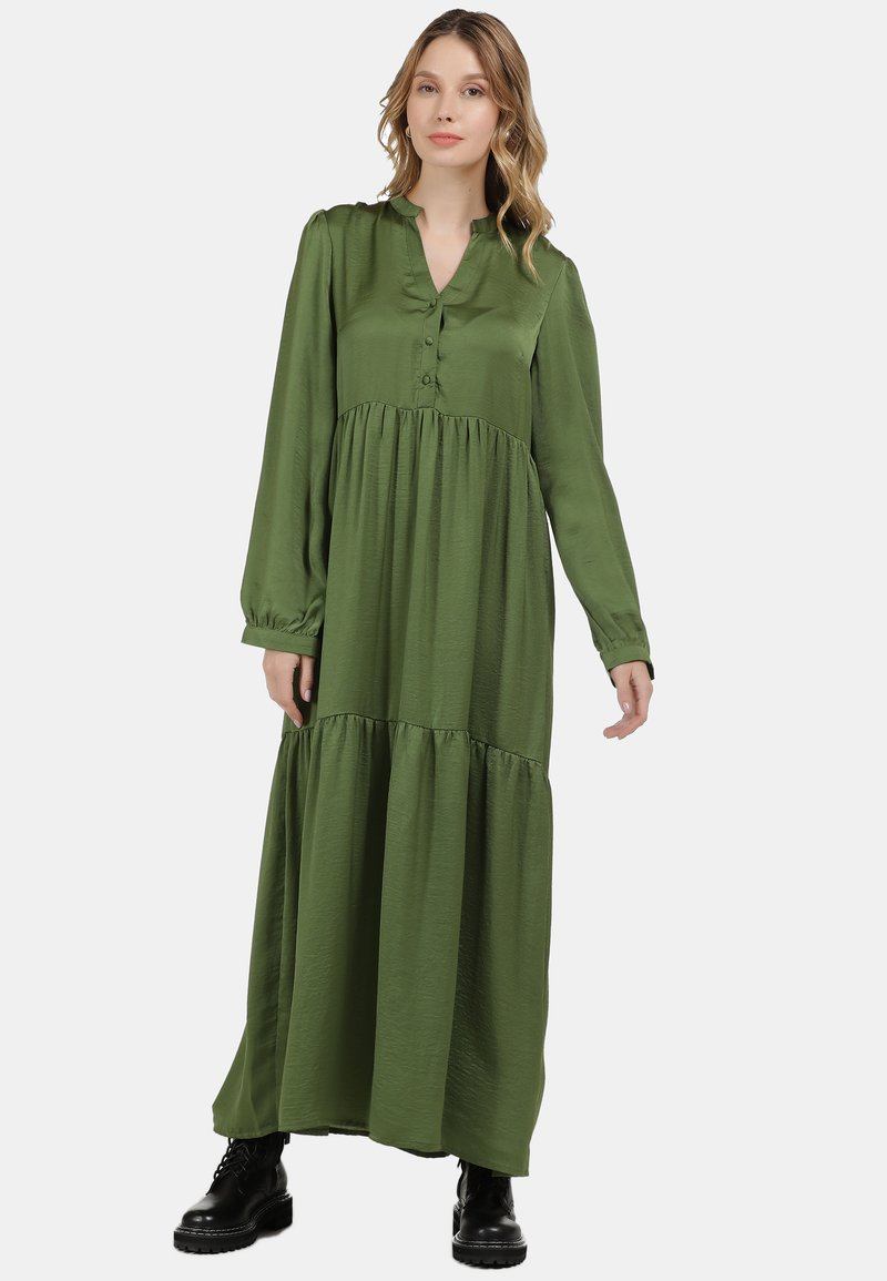 DreiMaster - Maxi dress - oliv