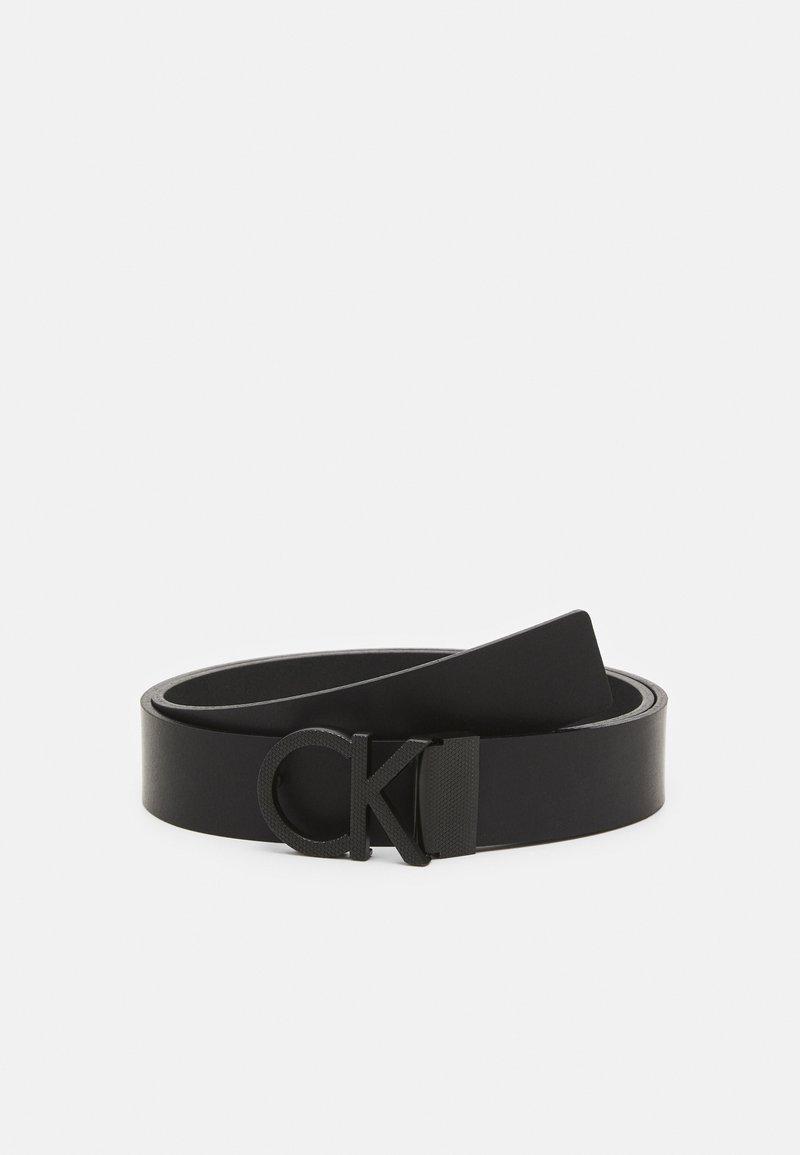 Calvin Klein - PIQUE - Belt - black