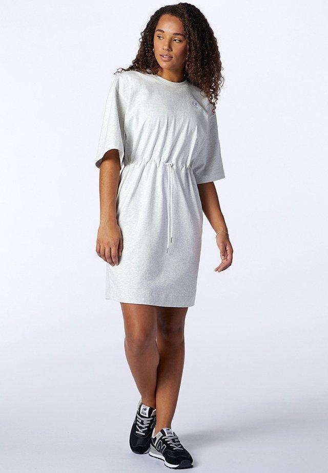 ATHLETICS  - Sukienka z dżerseju - sea salt heather