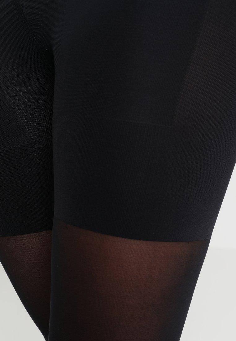 Calvin Klein Underwear - HIGH WAIST SHAPER TIGHT - Strømpebukser - black