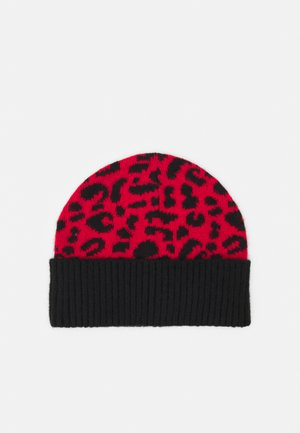 LEPARD HAT - Čepice - red
